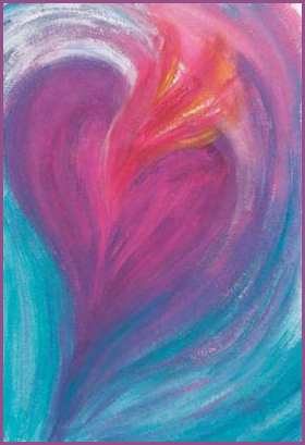 """Passion"" painting by Laura Elliott Asheville NC"