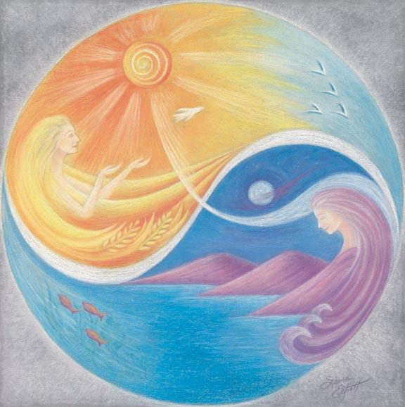 Equinox Fine Art Print by Laura Elliott