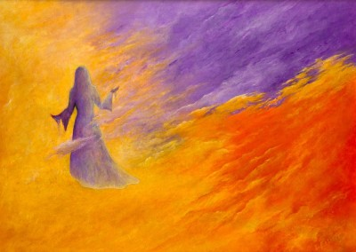 Mists of Time painting Laura Elliott