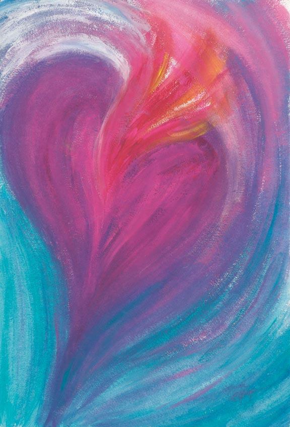Passion Fine Art Print by Laura Elliott