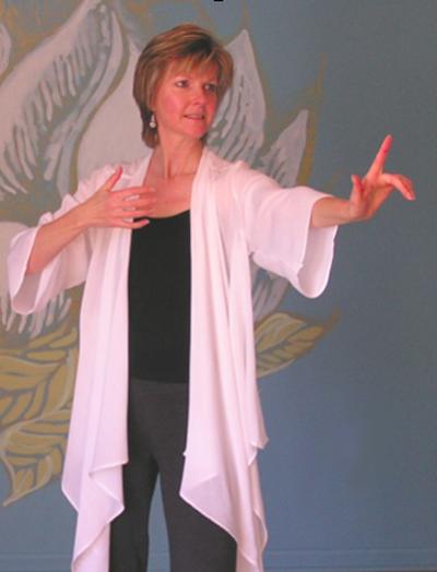 Laura Elliott, energy healer. Asheville NC